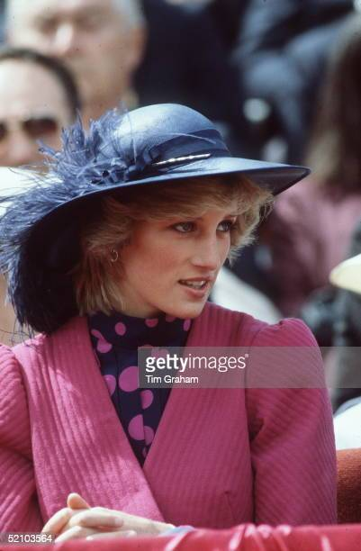 Princess Diana In Canada On Her Birthday 1st July 1983