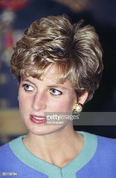 Princess Diana In Ottawa During An Official Tour Of Canada
