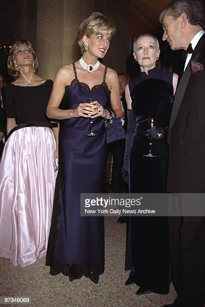 Princess Diana is on hand at Costume Institute Gala at the Metropolitan Museum of Art.