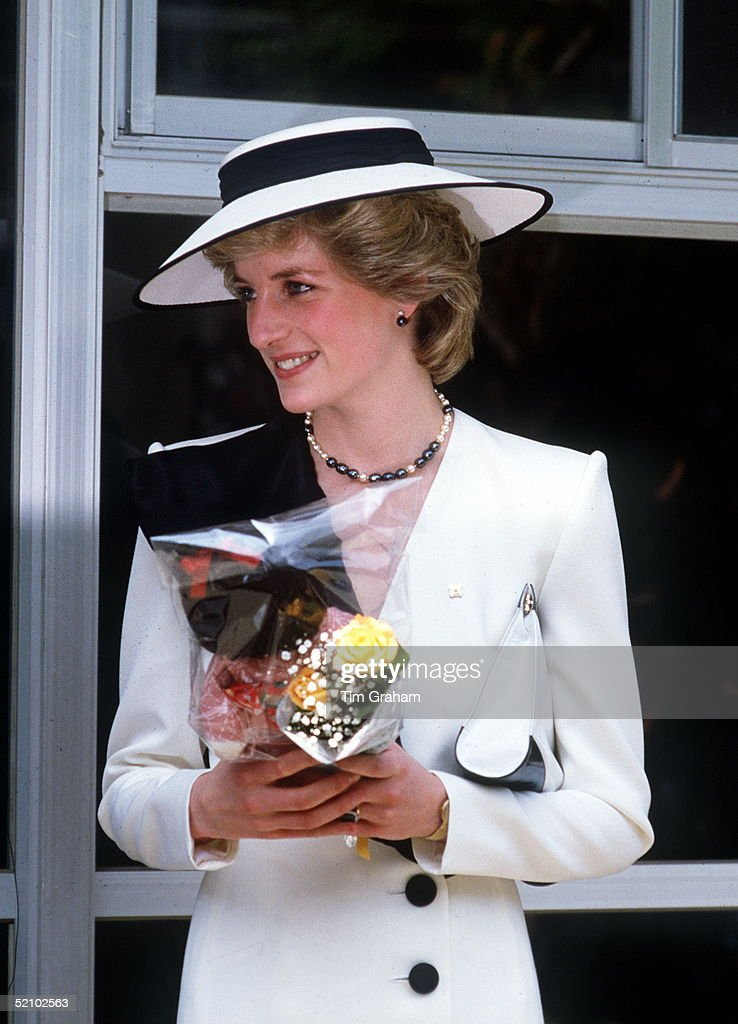 Diana In Japan : News Photo