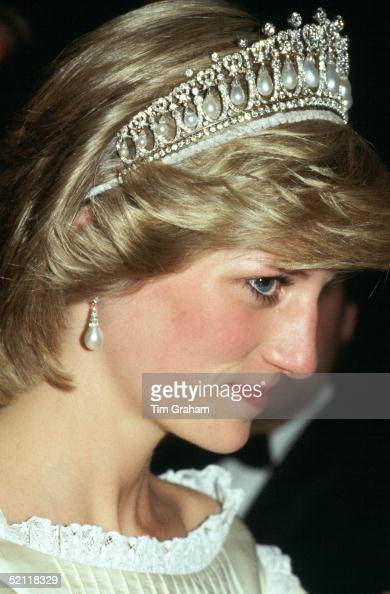 Princess Diana On An Official Visit To Canada Wearing The