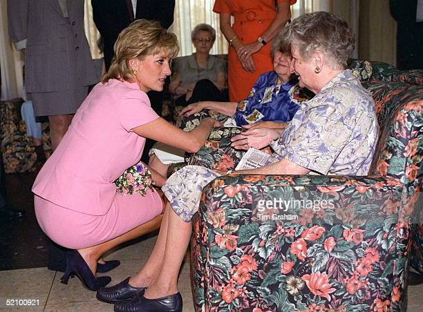 Princess Diana On Her Official Visit To Argentina.