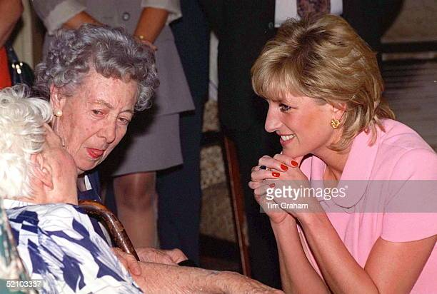 Princess Diana On Her Official Visit To Argentina