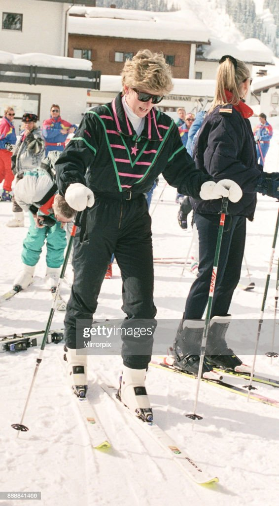 Princess Diana on her skiing holiday Pictures | Getty Images