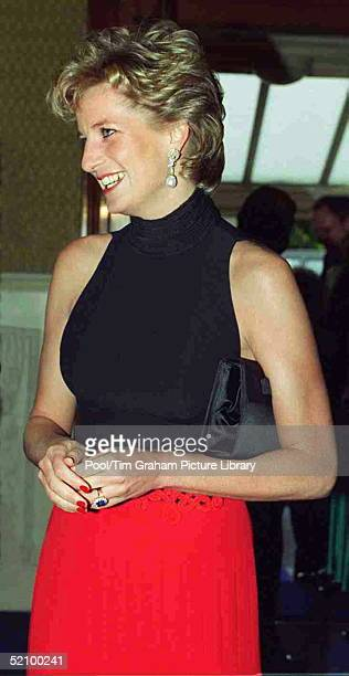 Princess Diana Patron Of British Red Cross Youth At The Red Cross Concert To Commemorate Ve Day