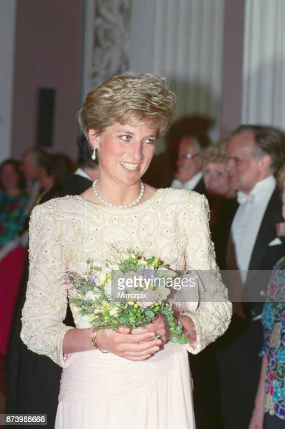 Princess Diana Princess of Wales attends Mansion House in London Mansion House is the official residence of the Lord Mayor of London It is used for...