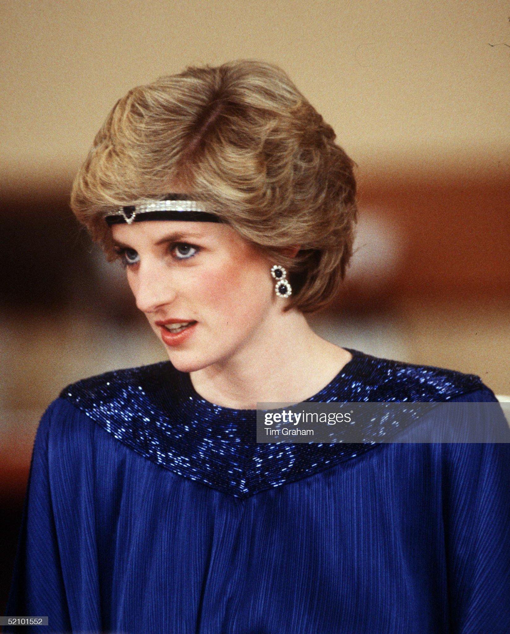 Diana Headband Japan : News Photo