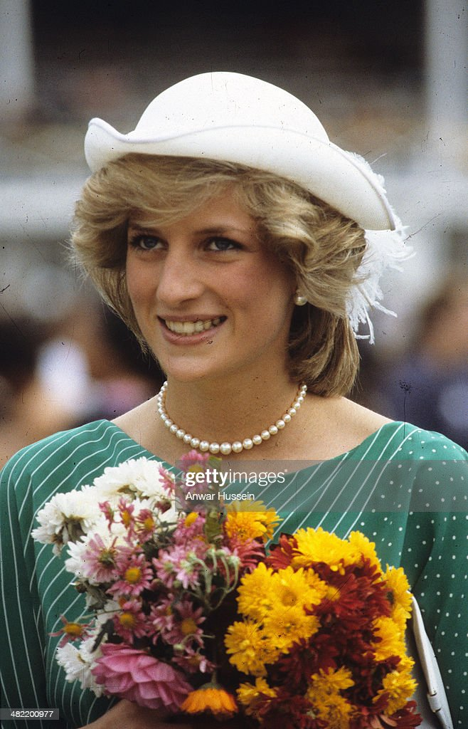 Prince Charles, Princess Diana and Prince William of Wales Visit to Australia and New Zealand 1983 : News Photo