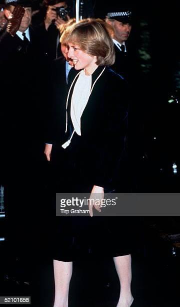 Princess Diana Switching On The Regent Street Christmas Lights