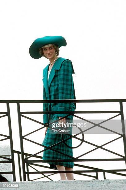 Princess Diana Visiting Venice Italy