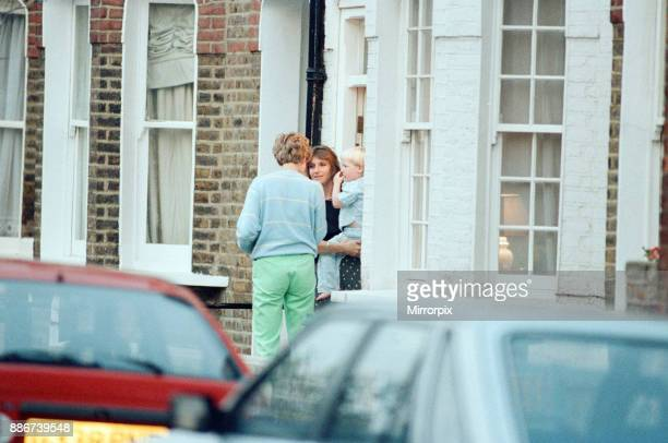 Princess Diana visits friend Carolyn Bartholmew former flatmate in London Wednesday 10th June 1992 Carolyn Bartholmew contributed to a controversial...