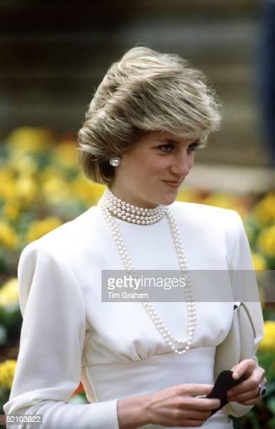 Princess Diana Visting The Expo '86 Exhibition In Vancouver, Canada.