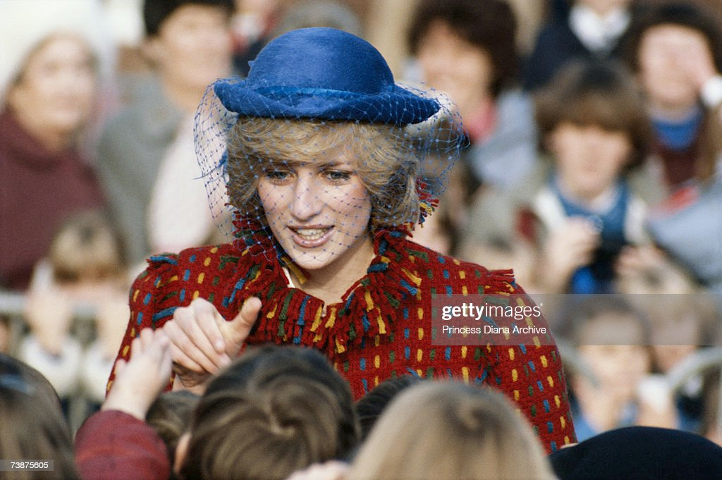 Diana In Wrexham : News Photo