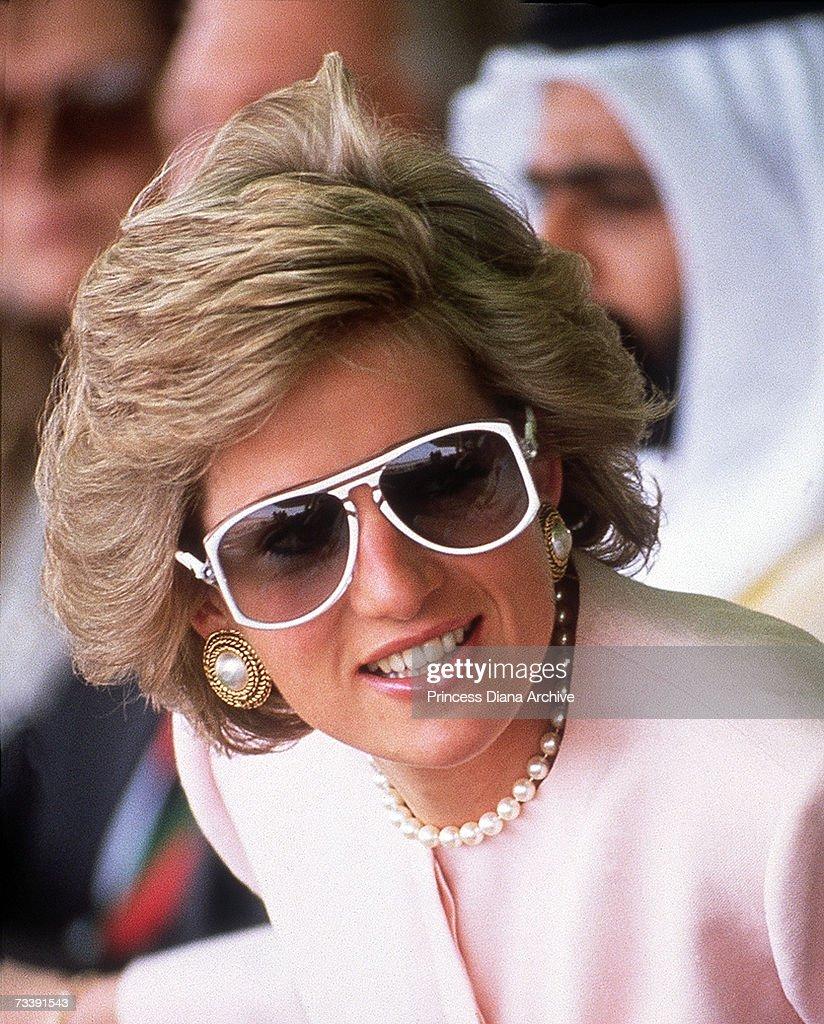 Diana In Sunglasses : News Photo