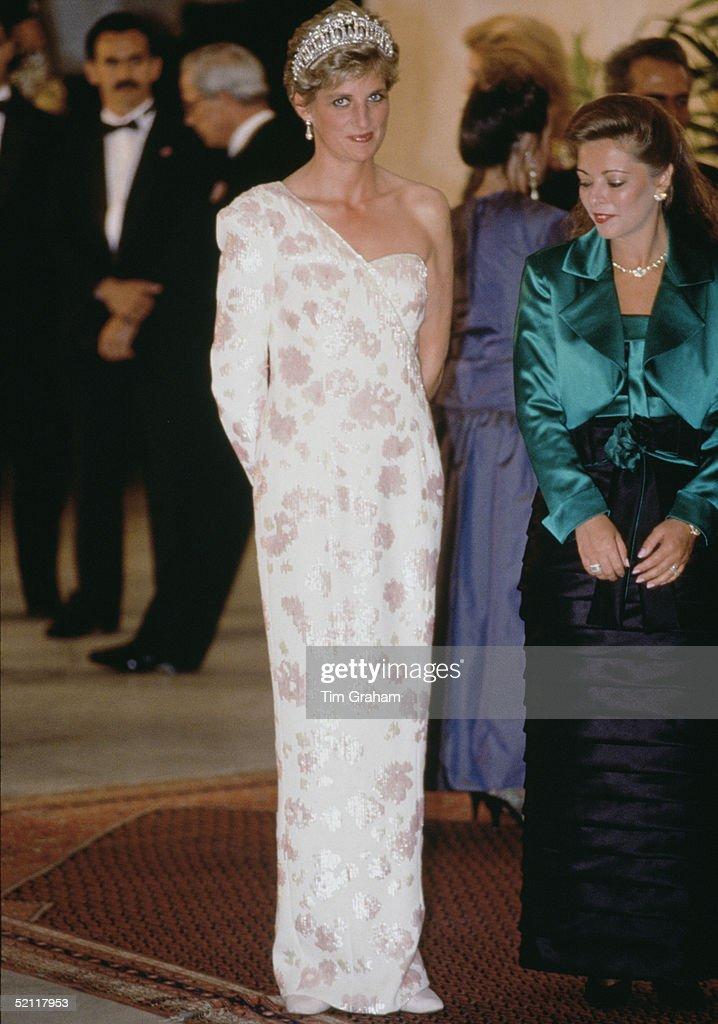 Princess Diana In Brazil : News Photo