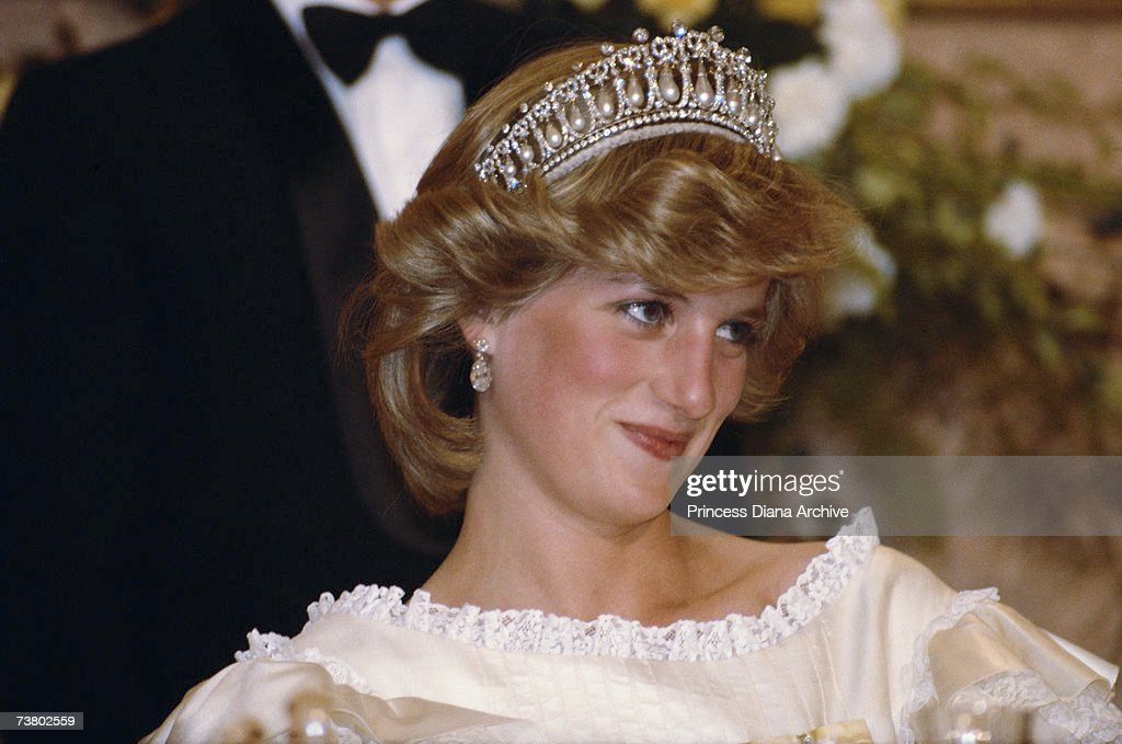 Diana In Tiara : News Photo