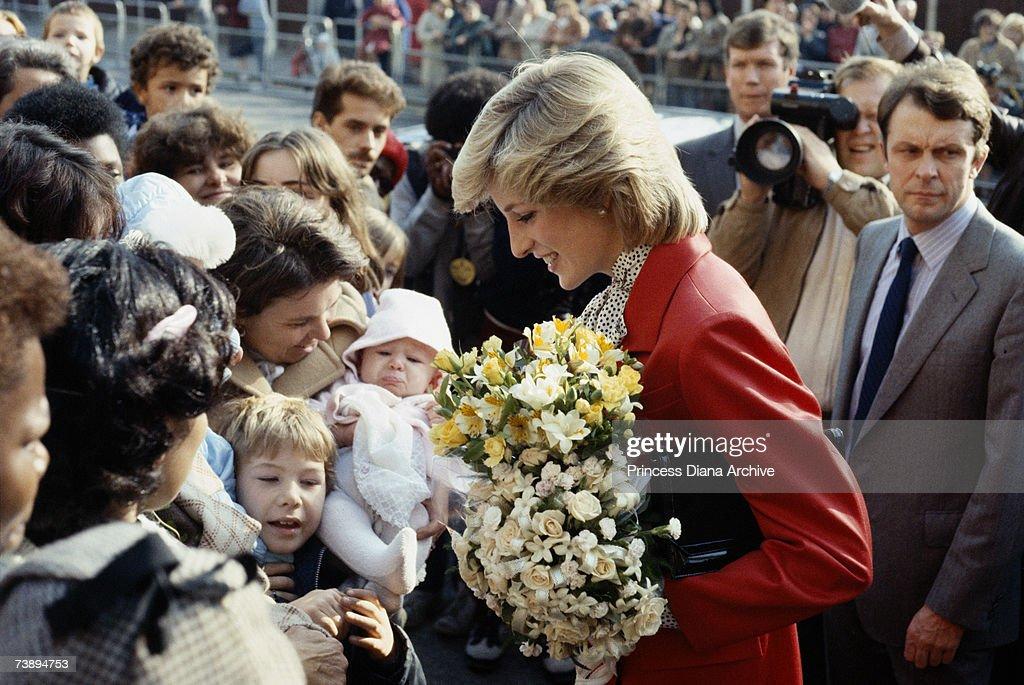 Diana In Brixton : News Photo