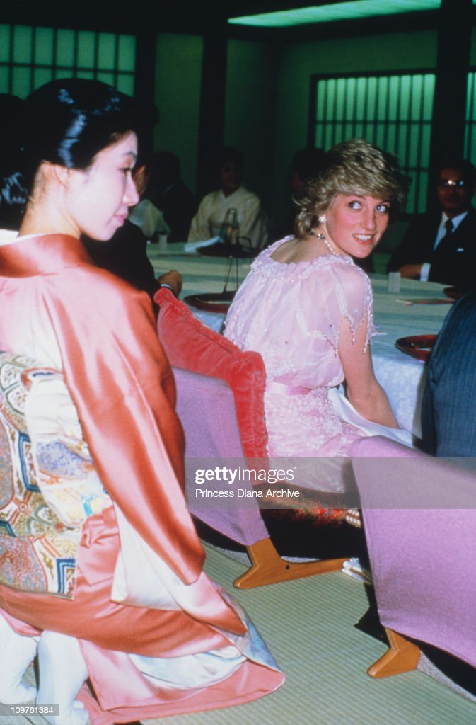 Diana In Kyoto : News Photo