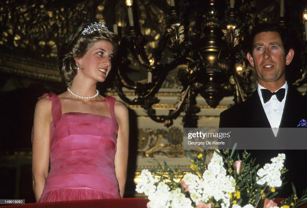 Diana and Charles at La Scala : News Photo