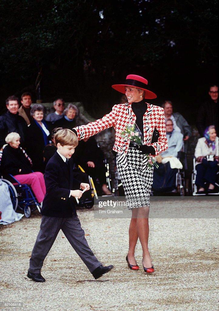 Diana William Sandringham : News Photo