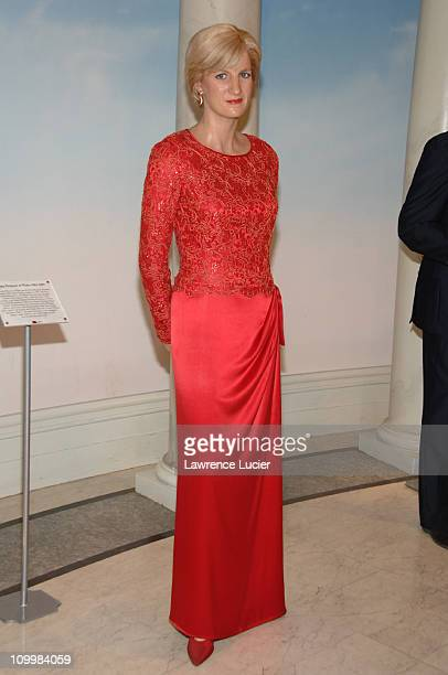 Princess Diana's figure in wax during Celebrity Figures In Wax Debut At Madame Tussauds in New York City at Madame Tussauds in New York New York...