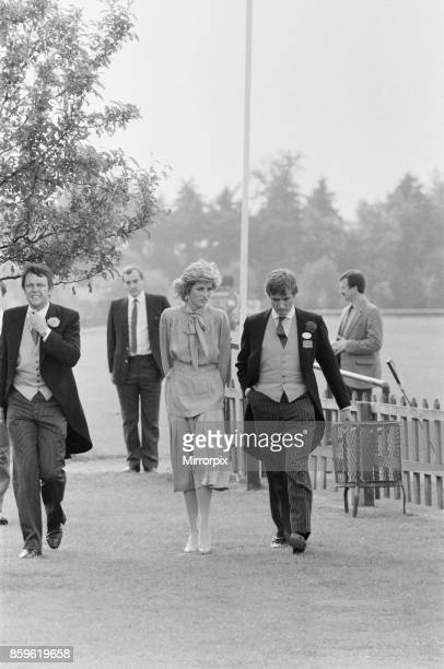 Princess DianaThe Princess of Wales at Guards Polo at Windsor Berkshire Seen behindThe Princess 2nd from the left in this picture and in line with...