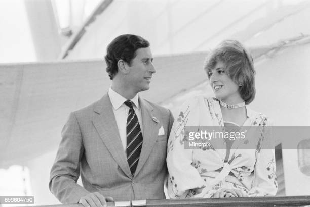 Princess DianaThe Princess of Wales in Gibraltar for her Honeymoon with her husband Prince CharlesThe Princess of Wales 1st August 1981