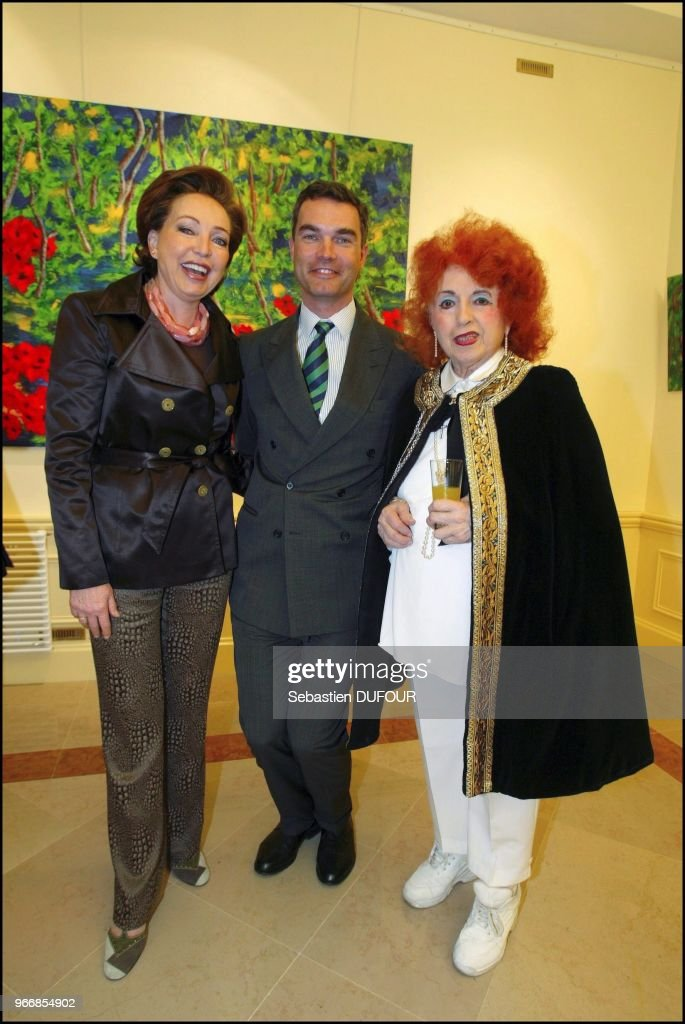 Opening of the exhibition of H.R.H Princess Diane of France, Duchess of Wurttemberg. : Photo d'actualité