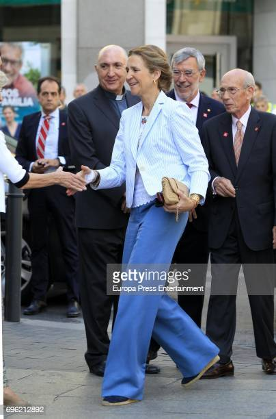 Princess Elena attends 'Charity Day' on June 15 2017 in Madrid Spain