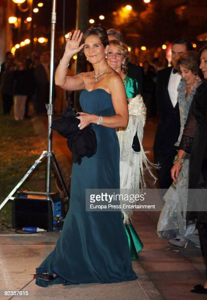 Princess Elena attends the 2009 Telva Magazine Fashion Awards on October 26 2009 in Madrid Spain