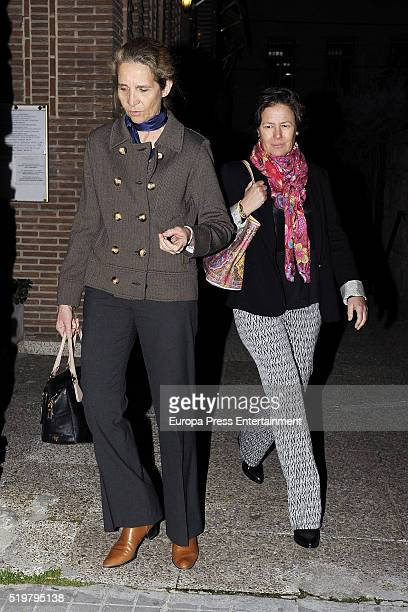 Princess Elena attends the funeral service for Prince Kardam of Bulgaria on the first anniversary of his death at Santos Andres and Demetrio church...