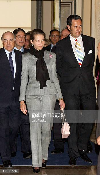 Princess Elena of Spain and husband Jaime de Marichalar