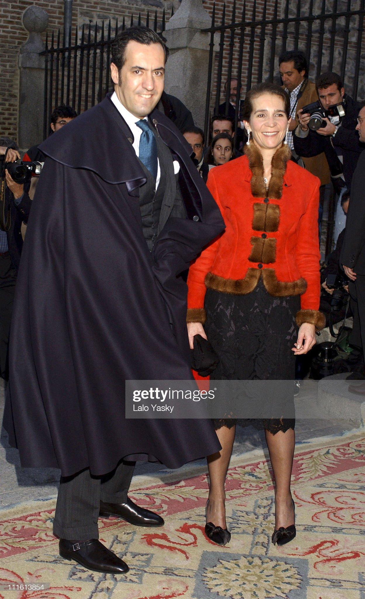 Spanish Royals Attend King Juan Carlos' Nephew's Wedding : News Photo