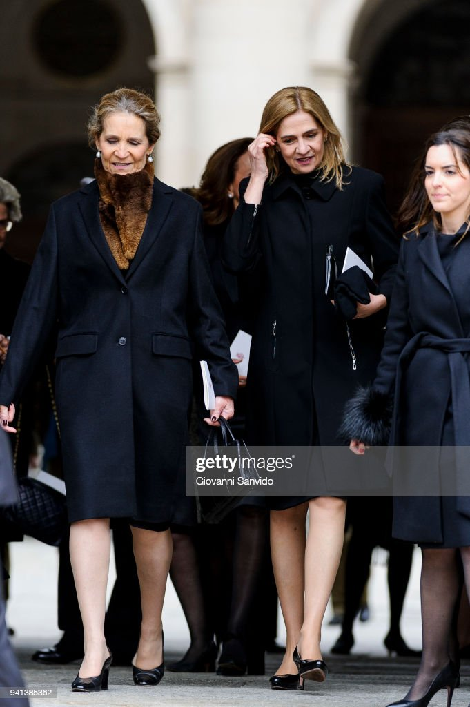 Spanish Royals Attend 25th Anniversary of King Juan Carlos' Father's Death : News Photo