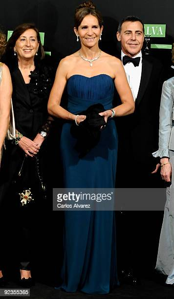 Princess Elena of Spain attends 2009 TELVA magazine Fashion Awards at El Canal Theatre on October 26 2009 in Madrid Spain