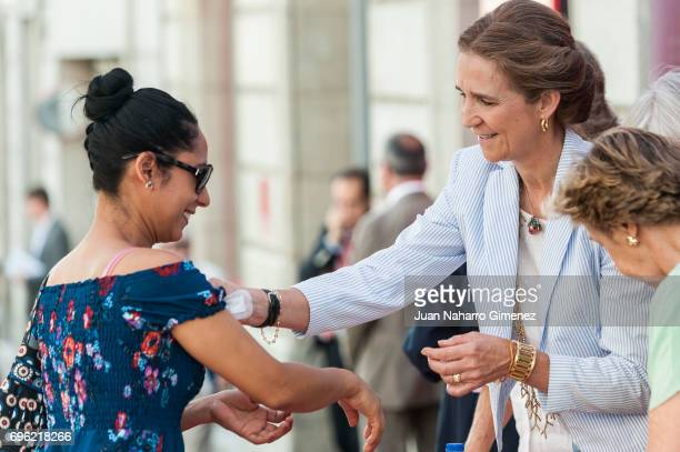 Princess Elena of Spain attends 'Charity Day' on June 15 2017 in Madrid Spain