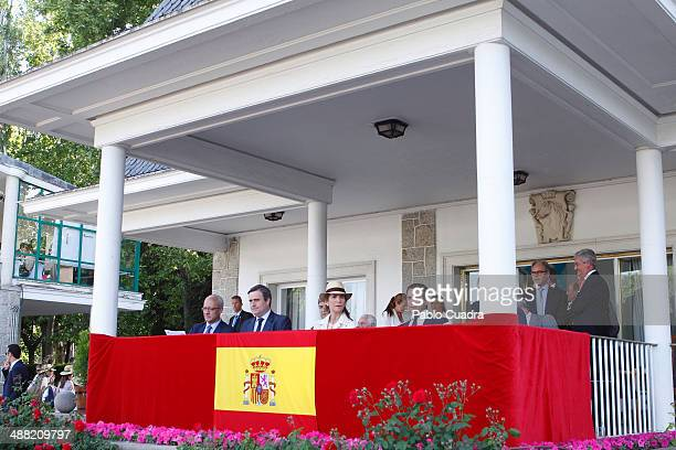 Princess Elena of Spain attends Global Champion Tour Day 3 on May 4 2014 in Madrid Spain