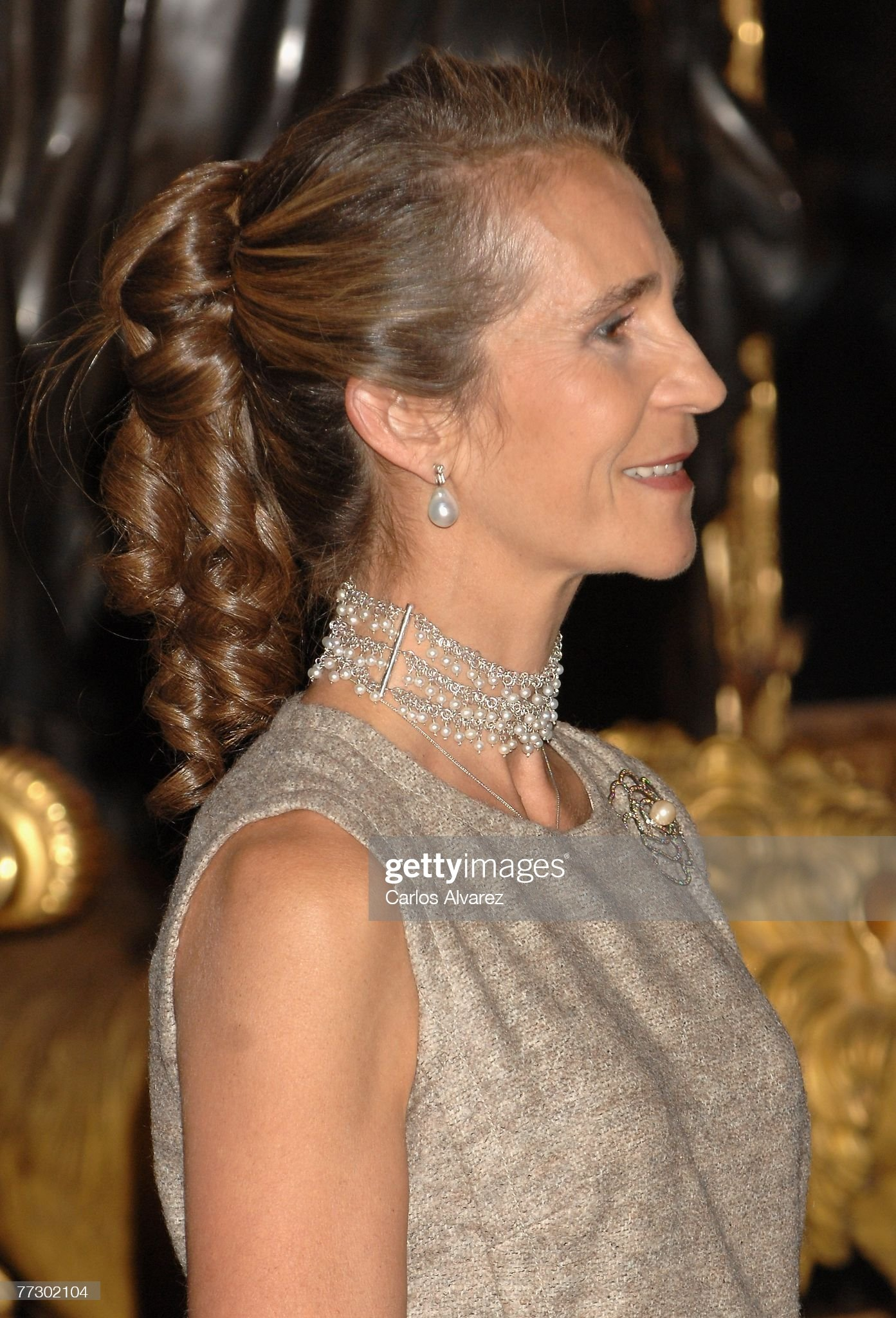 Spanish Royals Attend Reception In Occasion Of Spain National Day At R : News Photo