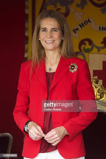 Princess Elena of Spain attends Red Cross Fundraising Day 2012 on October 10 2012 in Madrid Spain