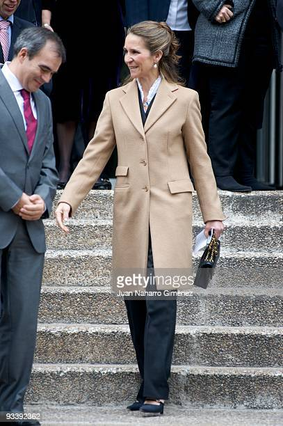 Princess Elena of Spain attends the 'IV Universidad Empresa' awards on November 25 2009 in Madrid Spain
