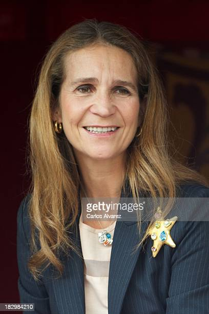 Princess Elena of Spain attends the Red Cross Fundraising Day 2013 on October 3 2013 in Madrid Spain