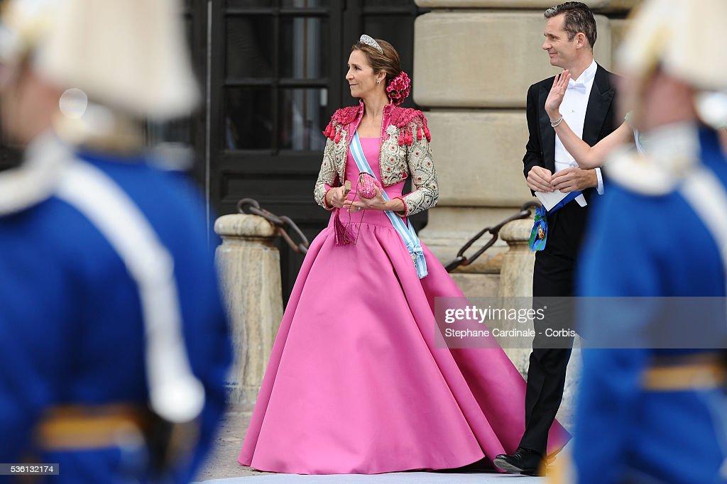 Sweden - Wedding Of Swedish Crown Princess Victoria & Daniel Westling: Arrivals : Foto di attualità
