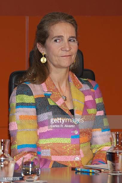 """Princess Elena of Spain attends """"Un Juguete, Una Ilusion"""" campaign presentation at Radio Television Espanola Headquarters on November 7, 2013 in..."""
