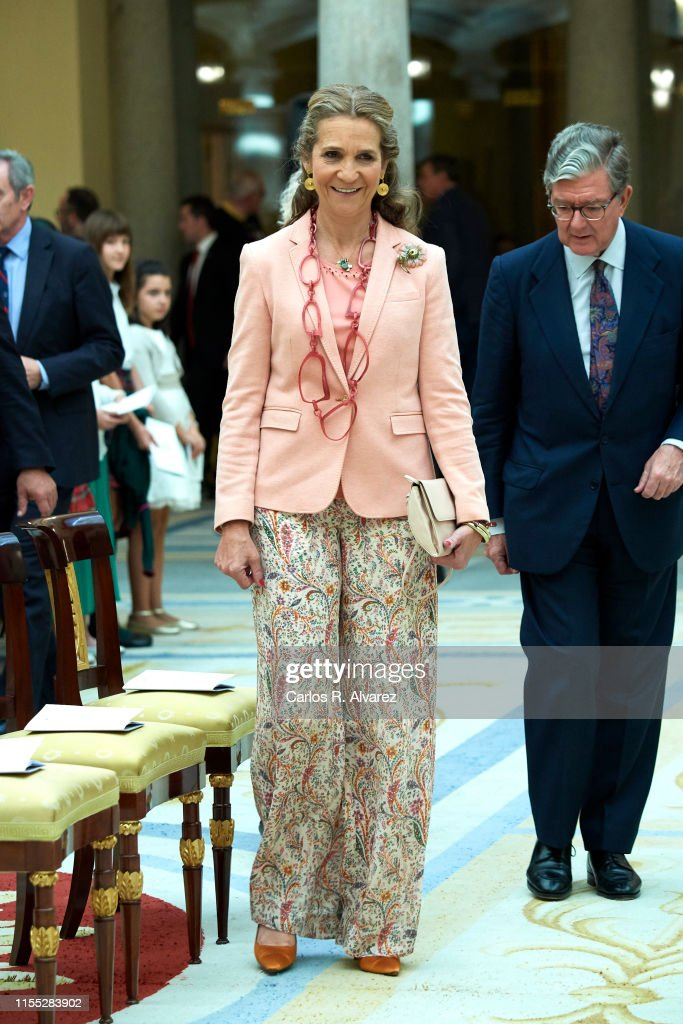 Princess Elena Attends Children's Painting Competition Awards : News Photo