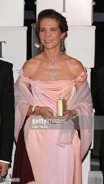 Princess Elena of Spain during 2005 TELVA Magazine Fashion Awards at Reina Sofia Museum in Madrid, Spain.