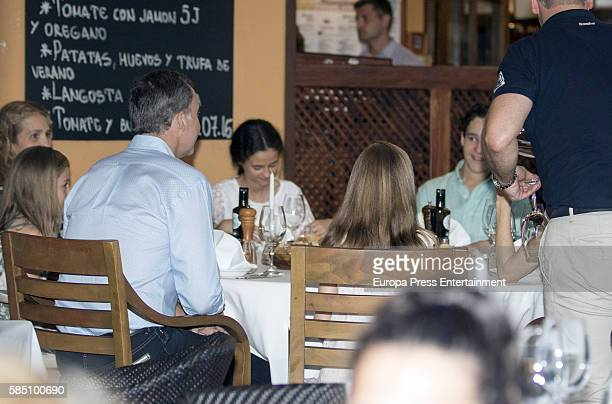 Princess Elena of Spain Princess Sofia of Spain King Felipe VI of Spain Victoria Federica Marichalar Princess Leonor of Spain and Felipe Juan Froilan...