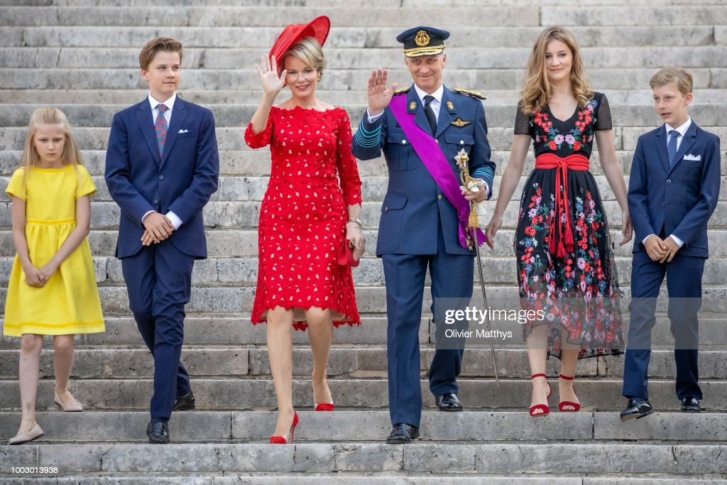 National Day Of Belgium 2018 : News Photo