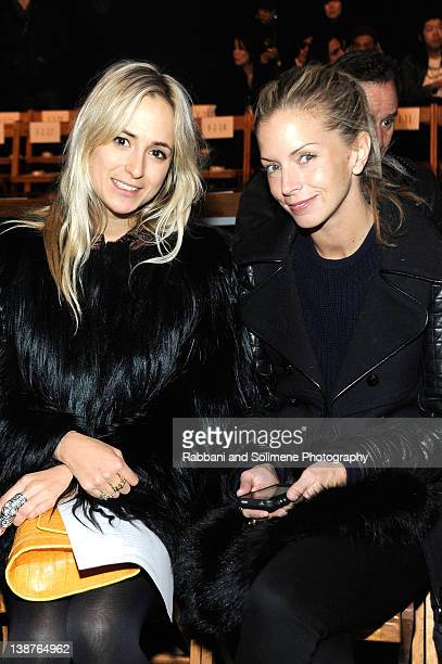 Princess Elisabeth von Thurn und Taxis and Vogue's Senior Market Editor Meredith Melling Burke attend the Boy And Girl By Band Of Outsider Fall 2012...