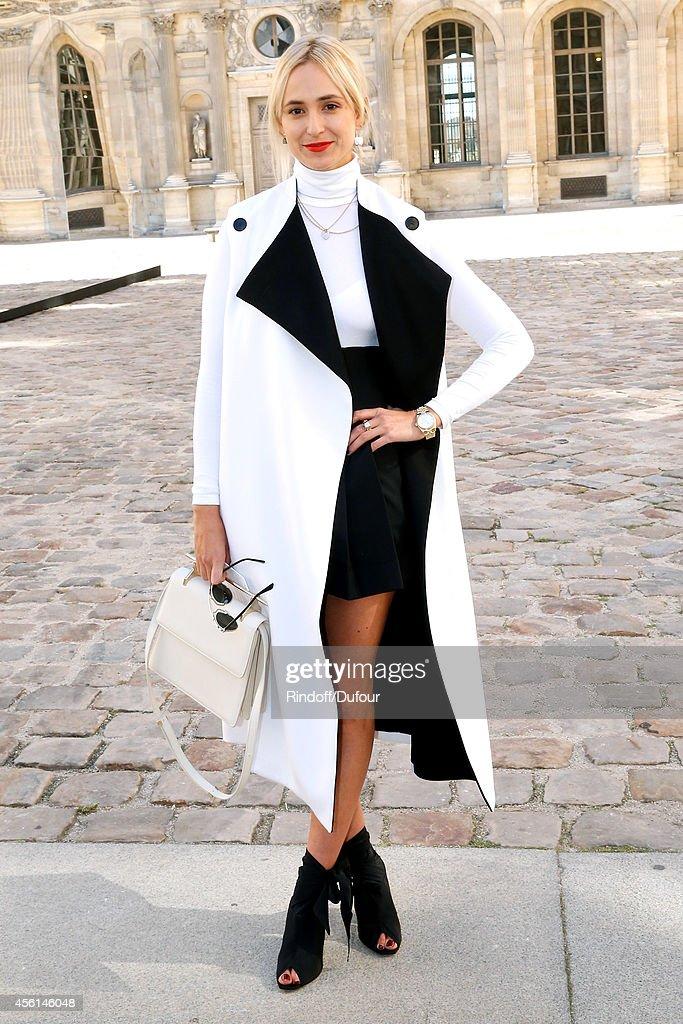 Christian Dior : Outside Arrivals - Paris Fashion Week Womenswear Spring/Summer 2015