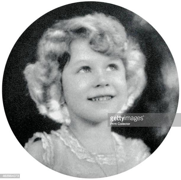 Princess Elizabeth aged five The future Queen Elizabeth II A photograph from the Illustrated London News Coronation Record Number
